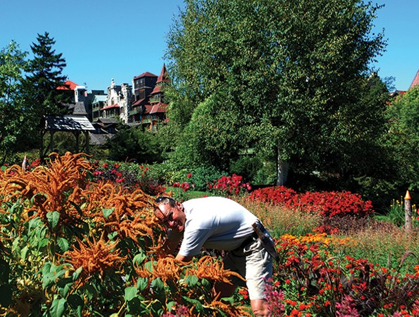 Mohonk Mountain House Garden Manager Andrew Koehn - LARRY DECKER