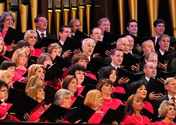 PROVIDED BY BETHEL WOODS CENTER FOR THE ARTS - Mormon Tabernacle Choir