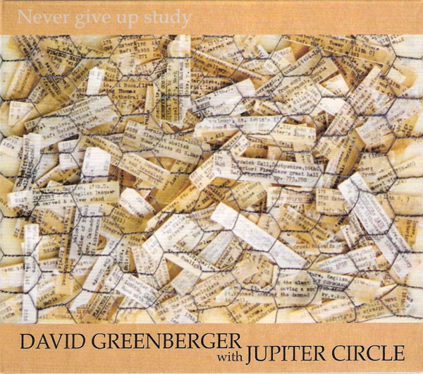 Never Give Up Study, 2011, Pelpel Recordings.