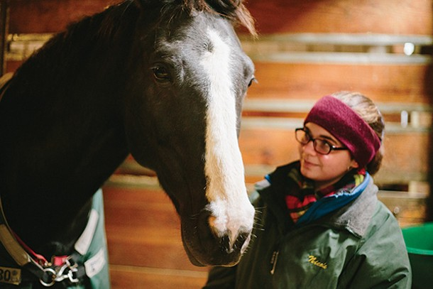 Oklahoma and Nicole Wiley at Southlands in Rhinebeck. - THOMAS SMITH