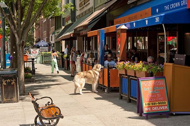 On Broadway in Saratoga Springs. - SETH GUISTIMBELLI