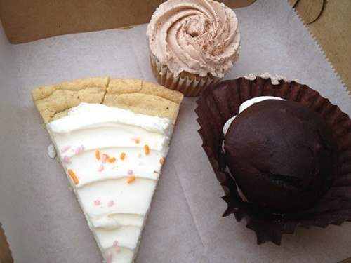 Our afternoon snack from Sugar Me Sweet Bakers