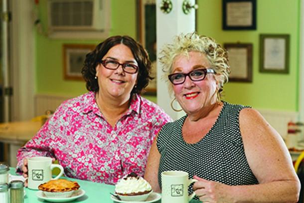 Owners Lisa Hall and Ann Nickinson. - THOMAS SMITH