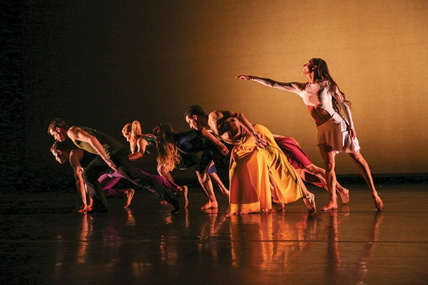 Parsons Dance will perform at the ps21 Dance Festival in Chatham this month. - MAYA HOROWITZ