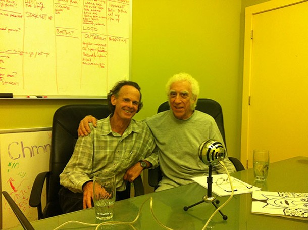 Patrick Wadden and Malcolm Cecil of Arm-of-the-Sea Theater.