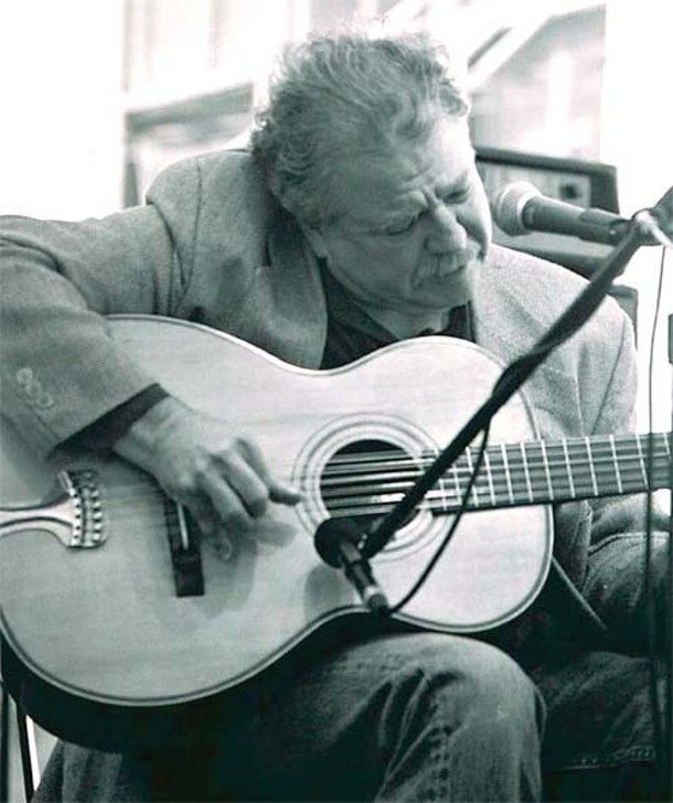 Paul Geremia performs at the Rosendale Cafe on December 4.
