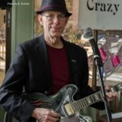 Pete Redmond of the band Crazy Feet