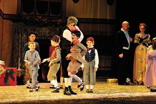 "Peter Naumann & Rebekah White in New Paltz Ballet Theater's ""The Nutcracker"" - JACQUES LUIGGI"