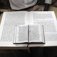 """The Last Word"": Philmont Man Completes Hand-Copied Bible Project"