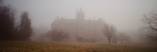 Photographs of the Hudson River Psychiatric Center by China Jorrin: The Administration Building, 2007. - CHINA JORRIN