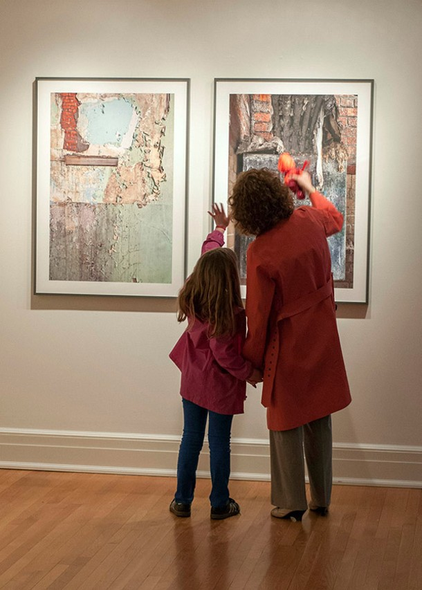 Photography by Avery Danziger at the Hotchkiss School's Tremaine Gallery in Lakeville.