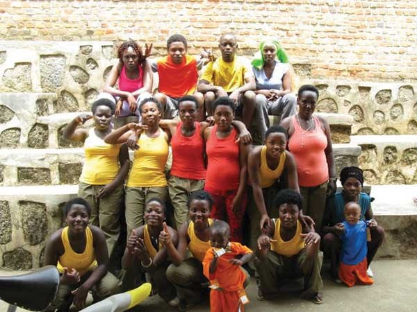 Photos from Megan Leigh's yoga teacher trainings in Rwanda in 2012 and 2013.
