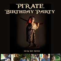 Pirate Birthday Party: You're Not Invited