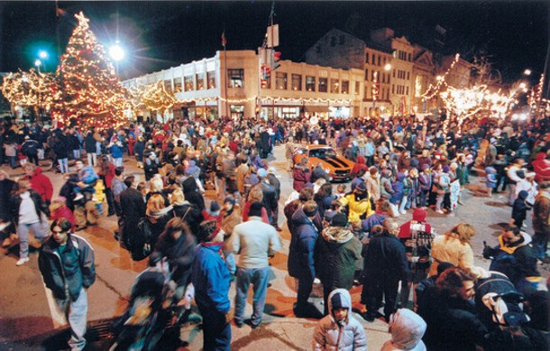 Poughkeepsie's Celebration of Lights is on November 30th this year.