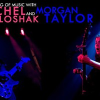 Rachel Loshak & Morgan Taylor Benefit Concert in Woodstock, Feb. 16