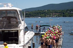 MICHELLE MARCUS - Ready for splash off in Newburgh