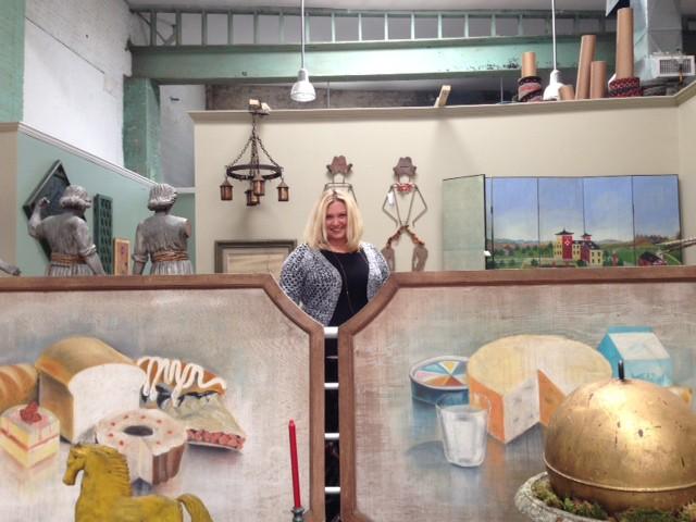 Rebekah Milne inside Milne's At Home Antiques