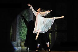 "Remy LaRay in New Paltz Ballet Theater's ""The Nutcracker."" - JACQUES LUIGGI"