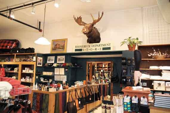 Rhinebeck Department Store's Roosevelt the Moose. - DAVID CUNNINGHAM