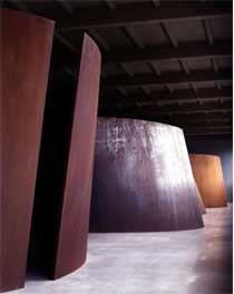 Richard Serra, installation view at Dia:Beacon. © Richard Serra/Artists Rights Society (ARS), New York.