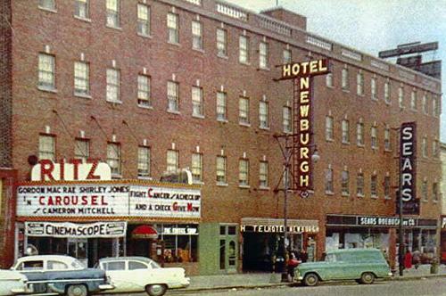 Ritz Theater, Broadway, Newburgh, 1956