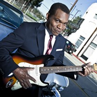 Robert Cray Rocks Paramount Hudson Valley in Peekskill on March 30
