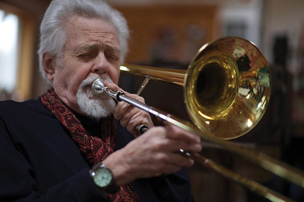Roswell Rudd will perform with Heather Masse and Rolf Sturm at the Kleinert/James on July 26