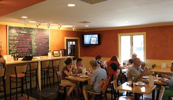 Rusty's Farm Fresh Eatery in Red Hook.