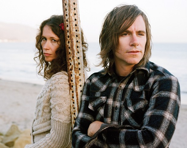 Sarah Lee Guthrie and johnny Irion perform at Bearsville Theater on October 14. - NEAL CASAL