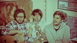 Scottish-punk trio Paws.