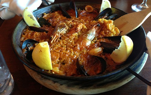 Seafood Paella for 2 at Sala on Hudson