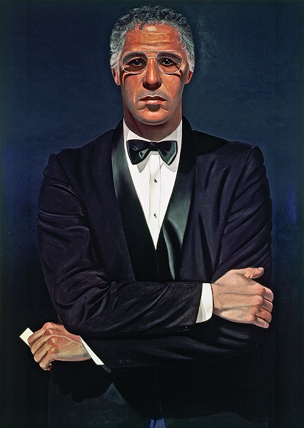 """Self-Portrait"", Alfred Leslie, oil on canvas, 1982, Frances Lehman Loeb Art Center, Vassar College, Purchase, Friends of the Frances Lehman Loeb Art Center Fund, 2004.18; Alfred Leslie"
