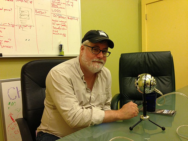 Shadowland Executive Director Brendan Burke