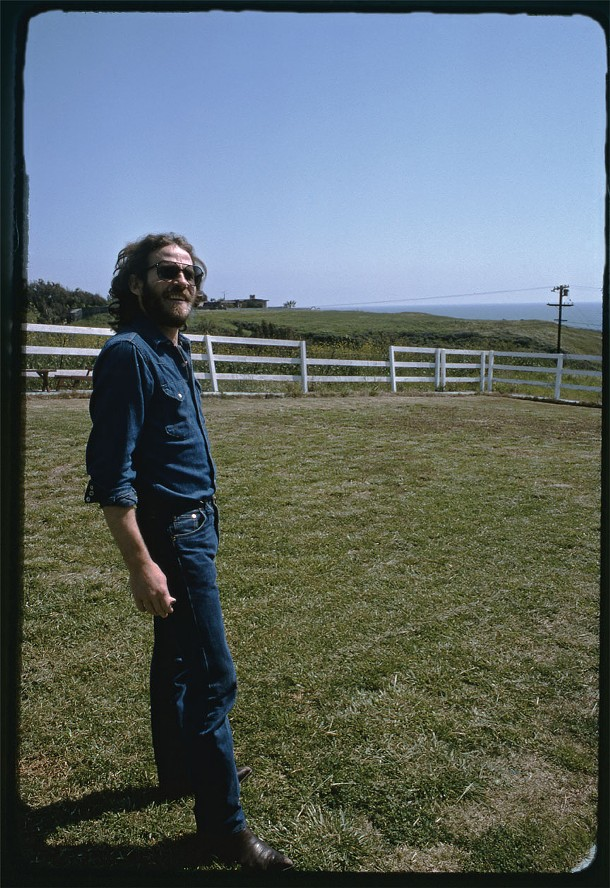"Shangri La Studios, Malibu, California, April 1975 - We were hanging out with Henry Glover, the producer. It was a beautiful spring day."" That big expanse of blue sky—who could resist?'"