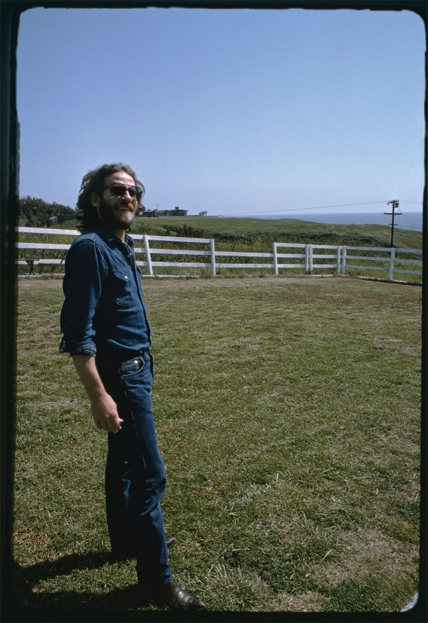 """Shangri La Studios, Malibu, California, April 1975 - We were hanging out with Henry Glover, the producer. It was a beautiful spring day."""" That big expanse of blue sky—who could resist?'"""