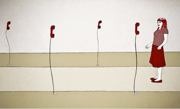 """""""Silenziosa Mente"""" by Italian animator Alessia Travaglini from the Best of the Athens Animation Festival."""