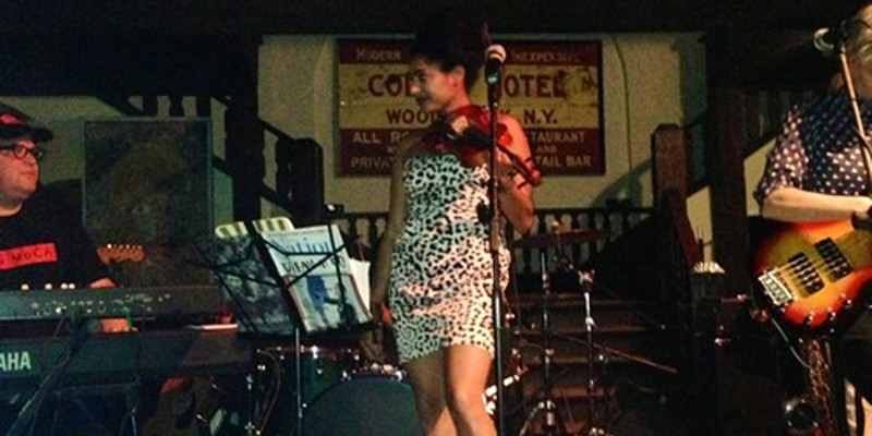 Simi Stone at the Colony Cafe