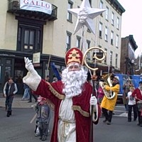 Sinterklaas' Send-Off in Kingston