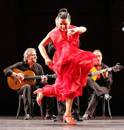 ANDREA MOHIN - Soledad Barrio heads the flamenco troupe in its winter 2013/2014 tour.