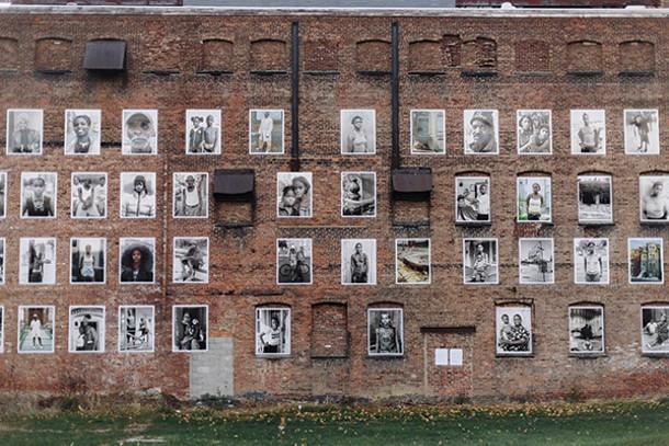 Street art at Safe Harbors on the Hudson in Newburgh. - THOMAS SMITH