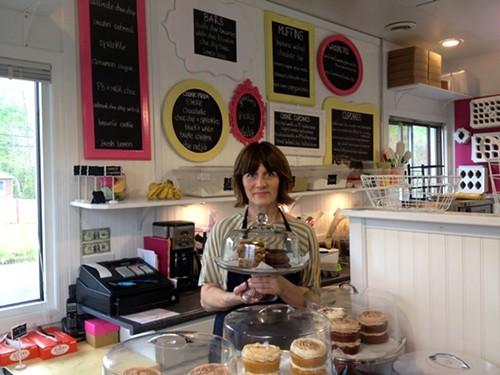 Sugar Me Sweet Baker owner, Ginny Farris