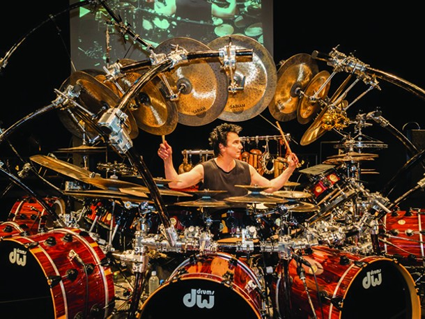 Terry Bozzio performs solo at Bearsville Theater on September 17.