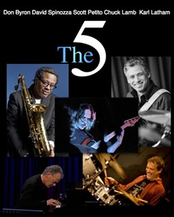 THE 5 is David Spinozza, Don Byron, Chuck Lamb, Karl Latham And Scott Petito