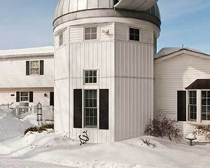 The Antols built an addition onto their home that is topped by an astronomical observatory.