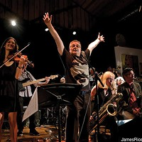 The Eddie Palermo Big Band at the Falcon on December 20