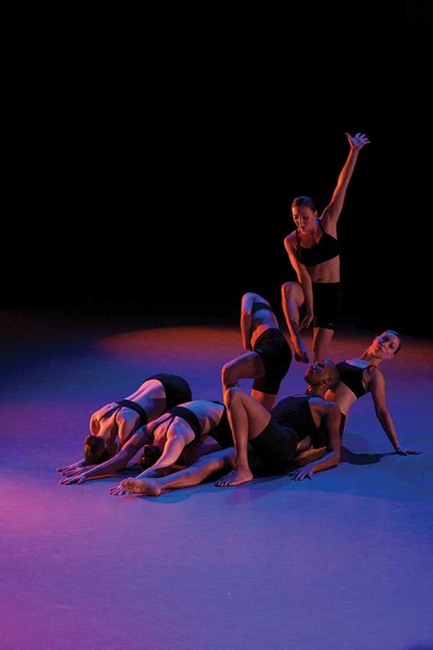 The Ellen Sinopoli Dance Company performing at Kaatsbaan in Tivoli on December 1. - GREGORY CARY