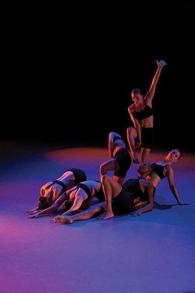 The Ellen Sinopoli Dance Company performing at Kaatsbaan in Tivoli on December 1. - GREGORY CARY