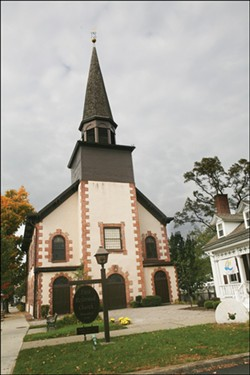 The First Reformed Church is the gateway to downtown Fishkill. - AMBER S. CLARK