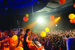 The Flaming Lips at the 2009 All Tomorrow's Parties. - ADAM FREHM