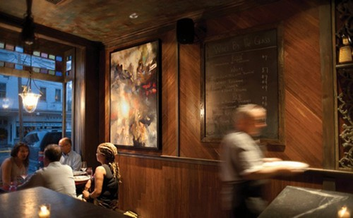 The front bar area of Crimson Sparrow